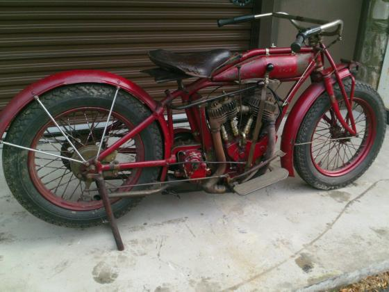 1916 Indian Chief Power Plus