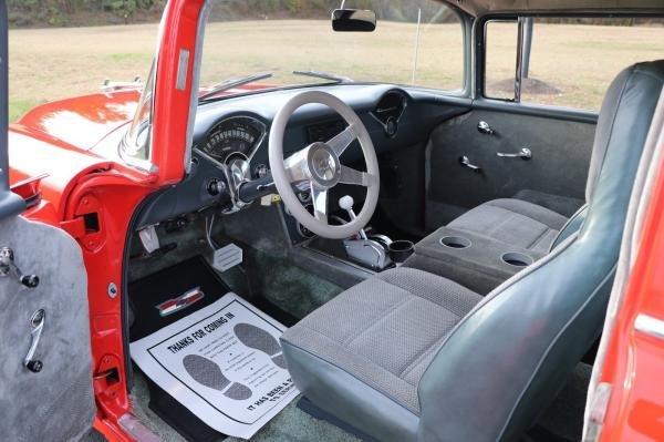 1955 CHEVROLET BEL AIR 150 210 2DR 350 V8