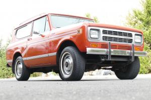 1980 International Harvester Scout II with Nissan SD33T Turbodiesel