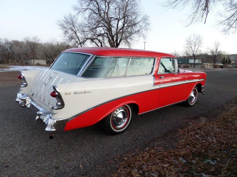 Cars 1956 Chevrolet Nomad Belair Station Wagon