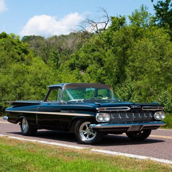 1959 Chevrolet El Camino 454 CID V8 Four-speed Automatic ...
