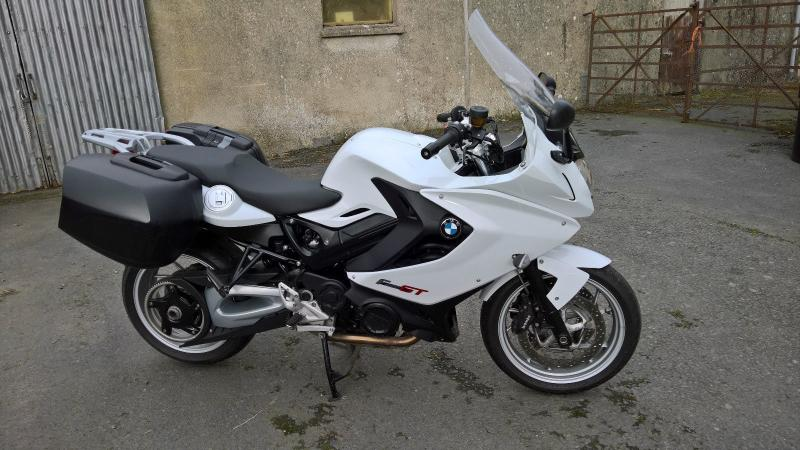 Motorcycles 2014 Bmw F 800 Gt White