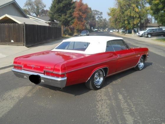 1966 Chevrolet Impala Convertible 396Ci V8 375HP Posi Tilt