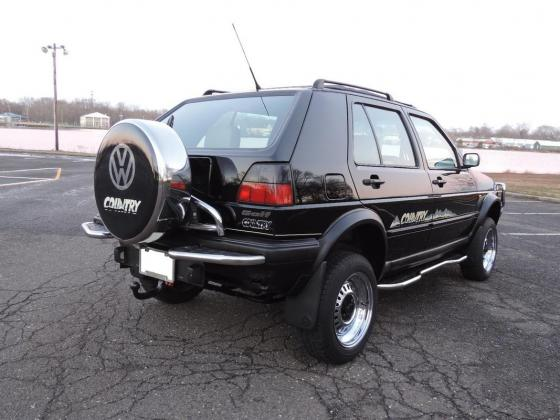 1991 VW Golf Country Chrome SYNCRO 4WD