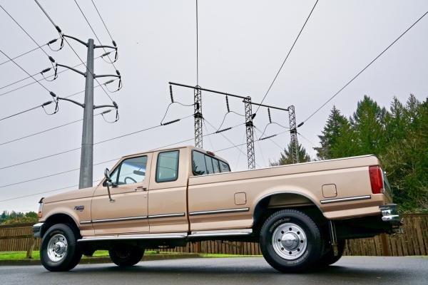 1995 Ford F-250 HD XLT Super Cab 7.3 Liter V-8 Power