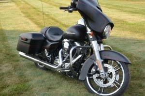 2016 Harley-Davidson FLHXS Twin Cam Denim Black