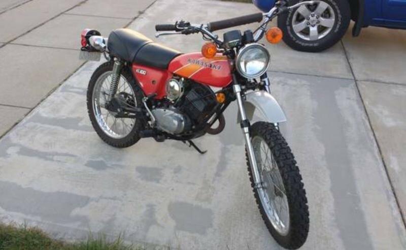 Motorcycles - 1977 Kawasaki KE100 Dual-Purpose