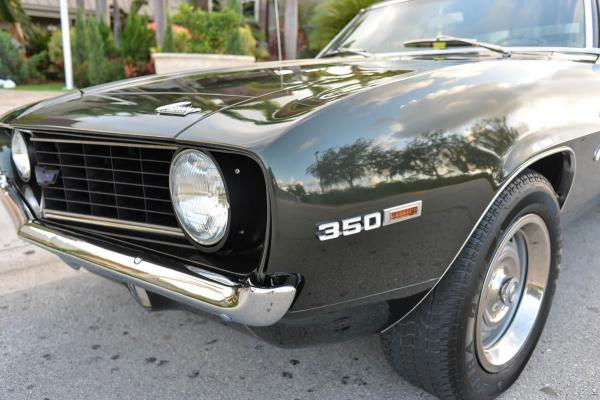 1969 Chevrolet Camaro 350cid V8 4 speed manual