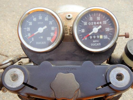 1974 Ducati 750 SPORT Bevel Original