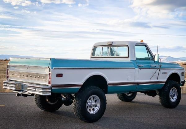 1972 Chevrolet C/K Pickup 2500 K20 Cheyenne 4WD
