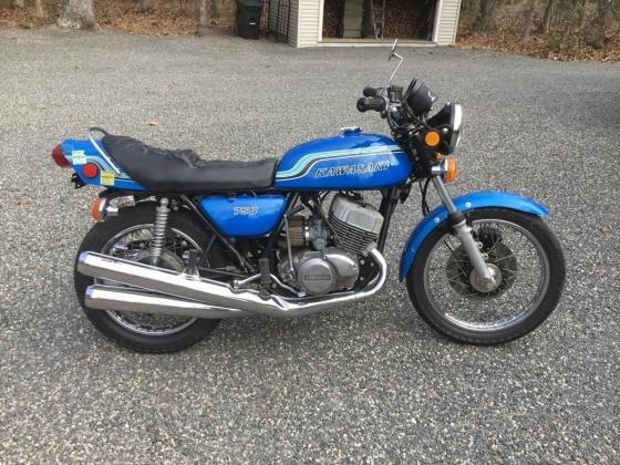 1972 Kawasaki H2 750 Mach IV Original