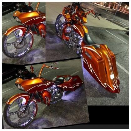 2004 Harley-Davidson Touring Road Glide Bagger