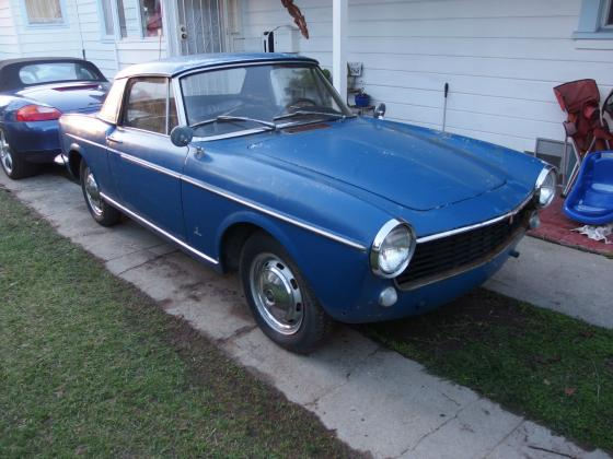 1966 Fiat 1500 Cabriolet Hardtop Easy Project