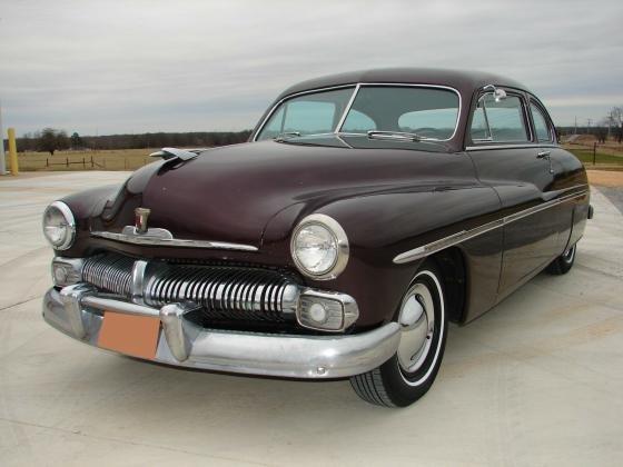1950 Mercury Eight Coupe 4-Spd Automatic
