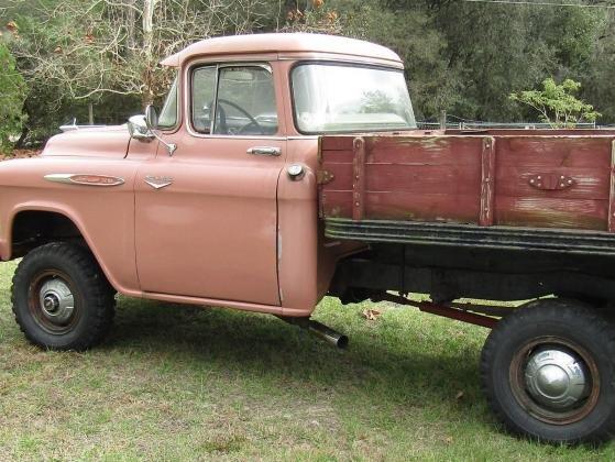 1957 Chevrolet Pickup Truck Deluxe