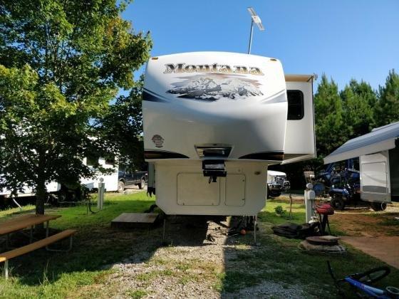 2012 Keystone MONTANA 3402RL 5TH WHEEL Trailer