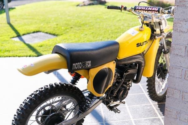 1976 Suzuki RM125A Dirt Motorcycle