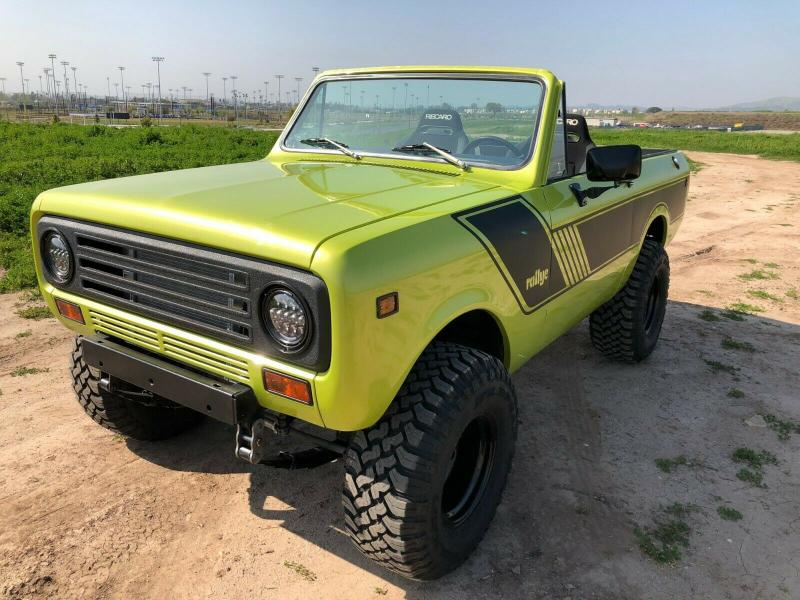 Cars - 1973 International Harvester Scout II LS Conversion