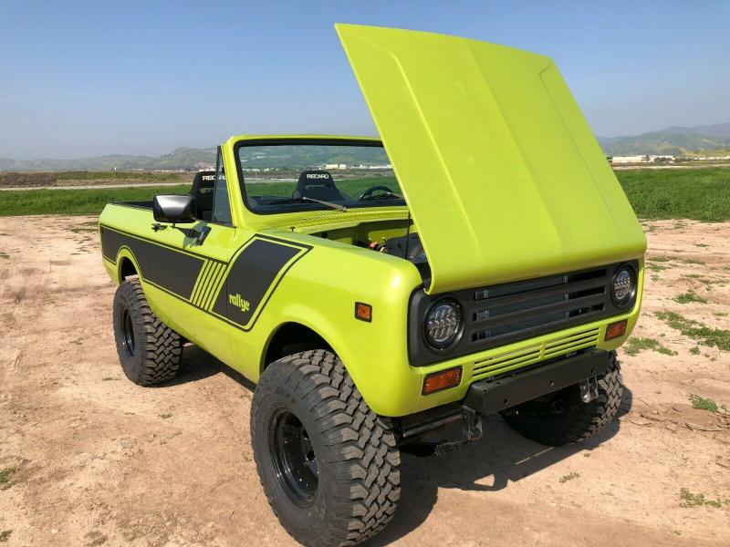 international scout ls harvester ii 1973 conversion hp chevy rover