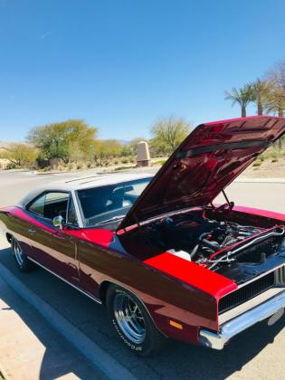 1969 Dodge Charger R/T SE Factory Sunroof M51