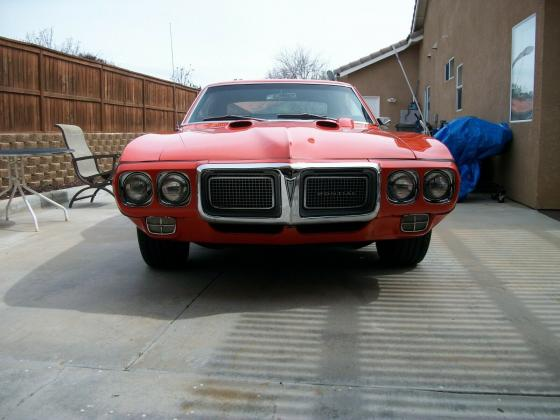 1969 Pontiac Firebird Coupe 455