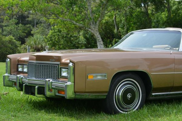 1976 Cadillac Eldorado Biarritz Convertible 500cid V-8