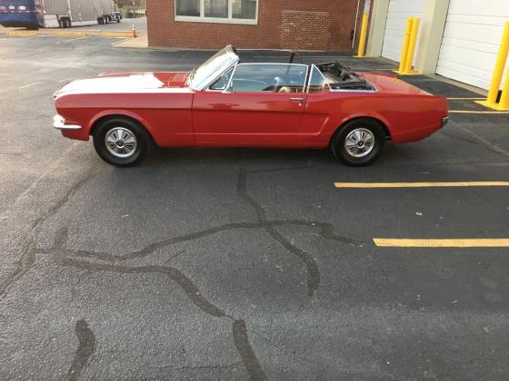 1966 Ford Mustang Convertible Zero Rust Car