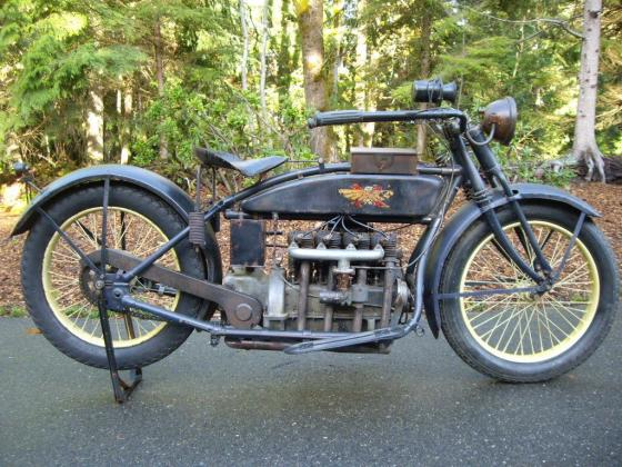 1923 Other Makes Henderson Deluxe Long Tank