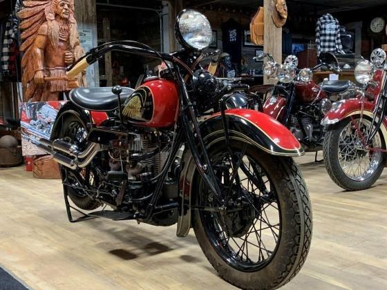 1937 Indian Four Cylinder Original