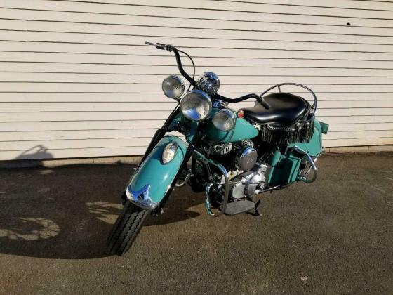 1941 Indian Chief Restored Teal