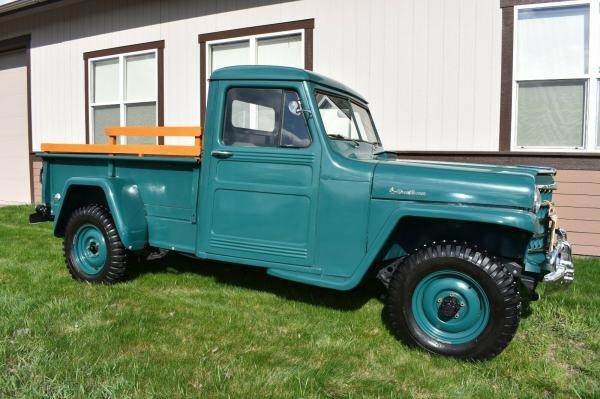1952 Willys Jeep Pickup Truck 4X4