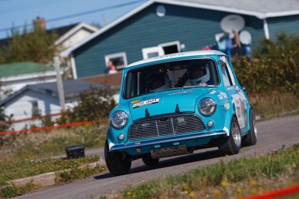 1962 Austin Mini Cooper Vintage Rally Car Targa