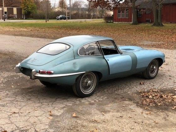 1964 Jaguar E-Type Original Coupe Manual