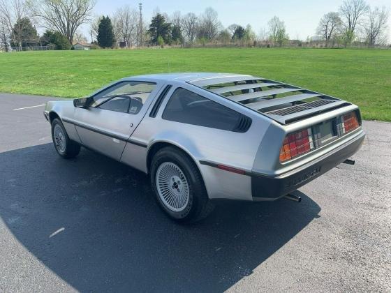 1981 DeLorean DMC 12 Original 5 Speed Manual