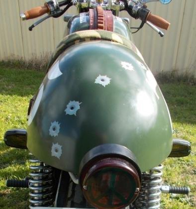 1975 Honda CB750 Custom Bike