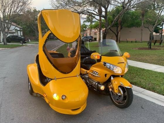 2001 Honda GoldWing GL1800 W/Sidecar and ABS