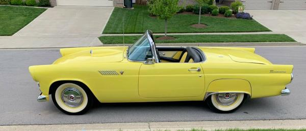 1955 Ford Thunderbird Convertible 292 No Rust