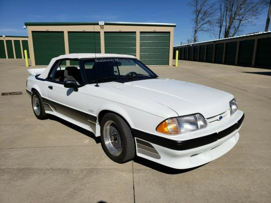 1988 Ford Mustang Saleen Convertible