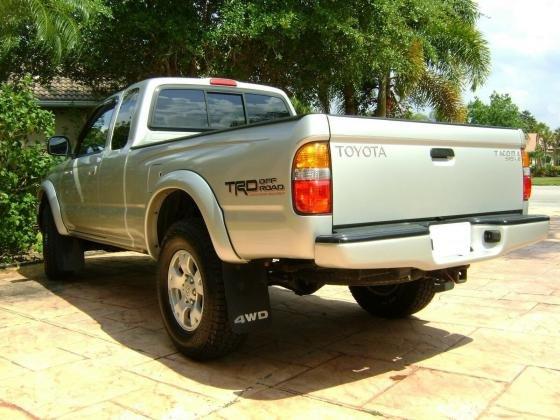 2002 Toyota Tacoma TRD SR5 4X4 Automatic Ext. Cab