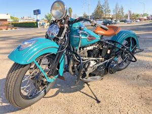 1941 Harley-Davidson FL Knucklehead 74 CI 4 Speed