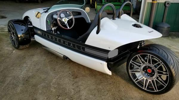 2018 Other Makes Vanderhall Venice Trike Low Miles-Like New!