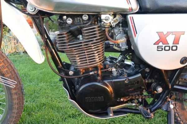 1981 Yamaha XT500 Low Miles
