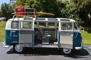 1965 Volkswagen Bus Vanagon 21-Window Rag-Top Type 2