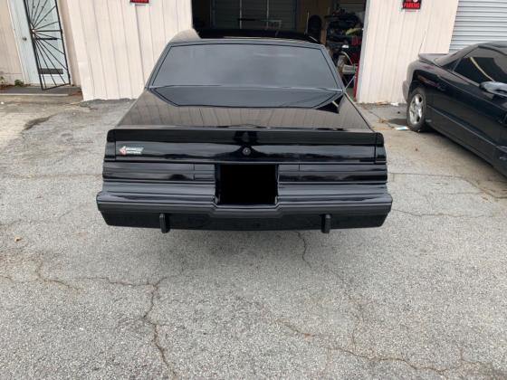 1987 Buick Grand National Coupe 3.8L Automatic