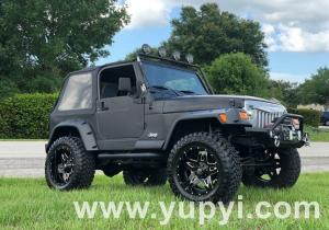 1999 Jeep Wrangler 4WD No Issues