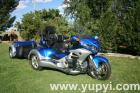 2012 Honda Gold Wing GL1800 Roadsmith Trike with Trailer