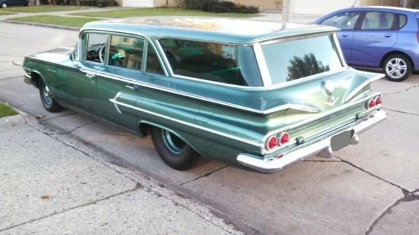 1960 Chevrolet Parkwood Station Wagon 468-550HP