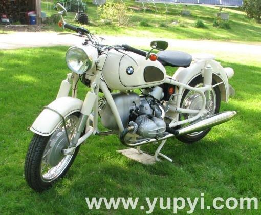 1965 BMW R-Series R69S Dover White Vintage Touring