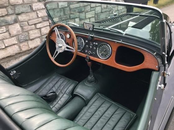1966 Morgan Plus Four Leather Convertible