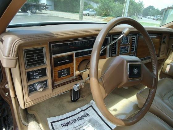 1981 Cadillac Seville Grandeur Convertible 368 V8